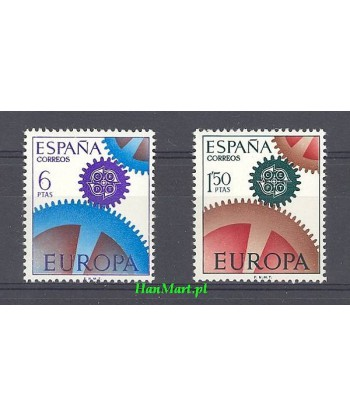 Hiszpania 1967 Mi 1682-1683 Czyste **