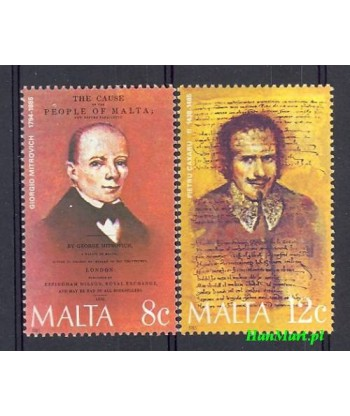 Malta 1985 Mi 734-735 Czyste **