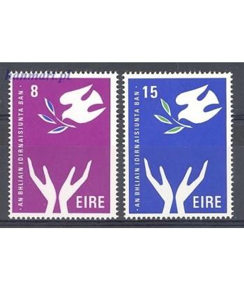 Irlandia 1975 Mi 313-314 Czyste **