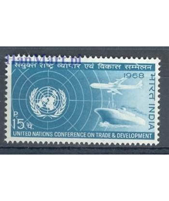 Indie 1968 Mi 445 Czyste **