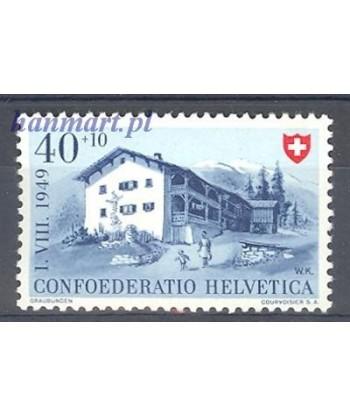 Szwajcaria 1949 Mi 528 Czyste **