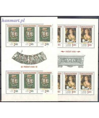 Czechosłowacja 1988 Mi 2975-2976 Czyste **