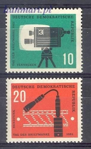 German Democratic Republic 1961 Mi...