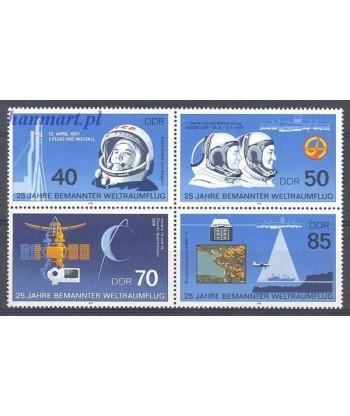 Niemiecka Republika Demokratyczna / DDR 1986 Mi 3005-3008 Czyste **