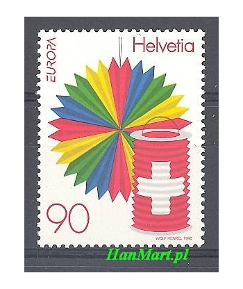 Szwajcaria 1998 Mi 1654 Czyste **