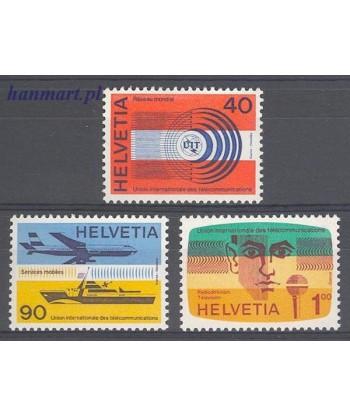 Szwajcaria 1976 Mi 11-13 Czyste **