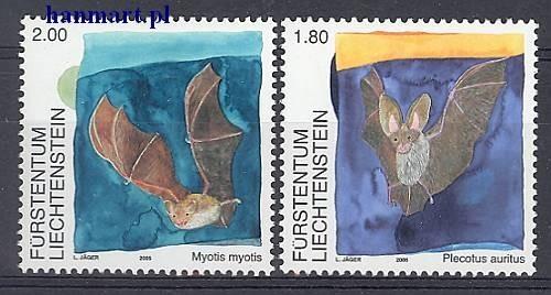 Liechtenstein 2005 Mi 1389-1390 MNH