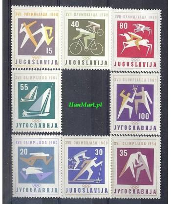 Jugosławia 1960 Mi 909-916 Czyste **