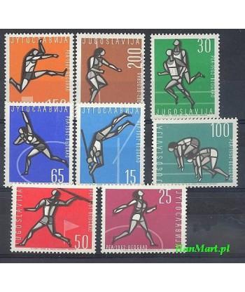 Jugosławia 1962 Mi 1016-1023 Czyste **