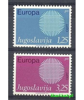 Jugosławia 1970 Mi 1379-1380 Czyste **