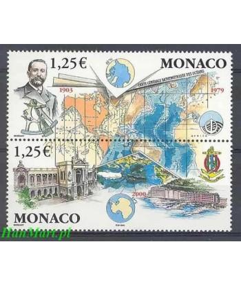 Monako 2003 Mi 2645-2646 Czyste **