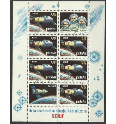 Polska 1973 Mi bl 53 Fi ark 2108...