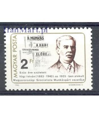 Węgry 1983 Mi 3620 Czyste **