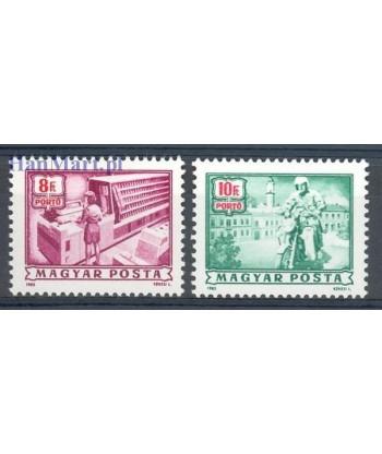Węgry 1985 Mi 250-251 Czyste **