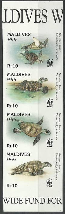 Maldives 1995 Mi 2420-2423B MNH