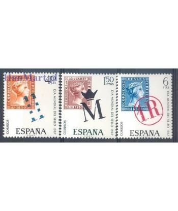 Hiszpania 1967 Mi 1685-1687 Czyste **