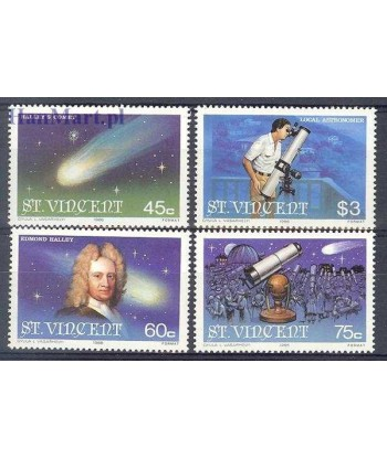 St Vincent 1986 Mi 932-935 Czyste **