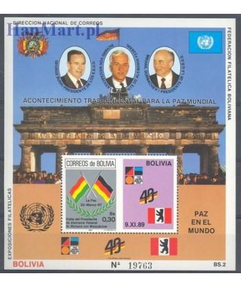 Boliwia 1990 Mi bl 184 Czyste **