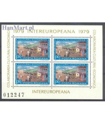 Rumunia 1979 Mi bl 157 Czyste **