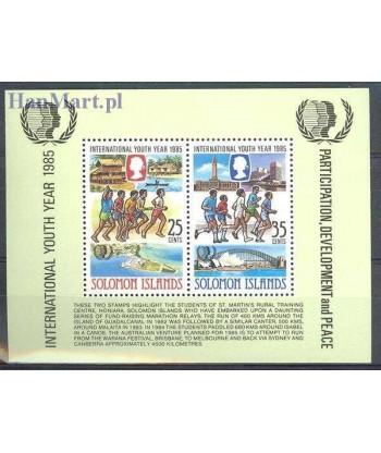 Wyspy Salomona 1985 Mi bl 17 Czyste **