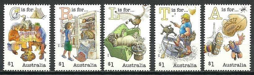 Australia 2016 Mi 4536-4540 MNH