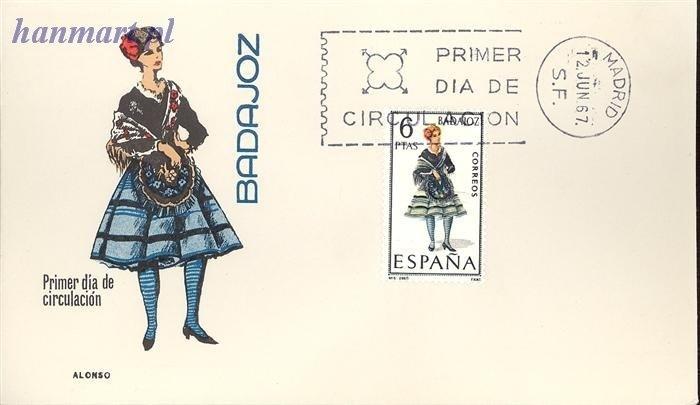 Spain 1967 Mi 1690 FDC