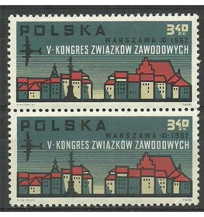 Polska 1962 Mi 1363 Fi 1215 Czyste **