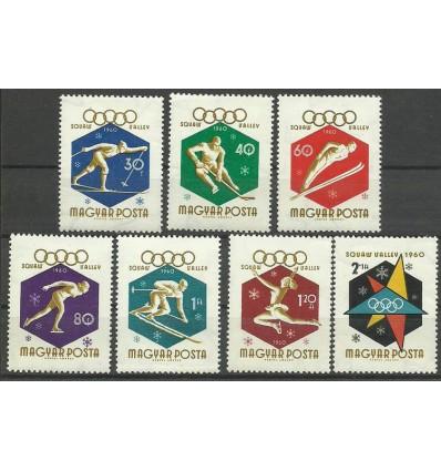 Hungary 1960 Mi 1668-1674 MNH