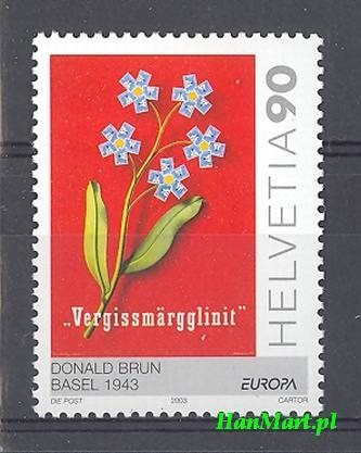 Switzerland 2003 Mi 1838 MNH