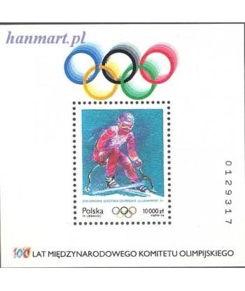 Polska 1994 Mi bl 125 Czyste **