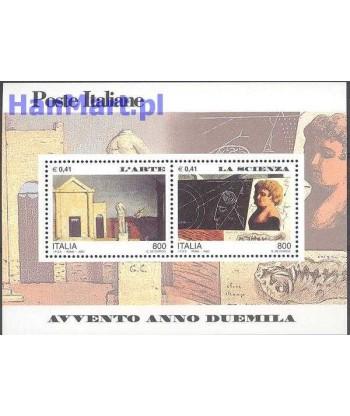 Włochy 2000 Mi bl 21 Czyste **