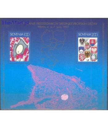 Słowenia 1997 Mi bl 5 Czyste **