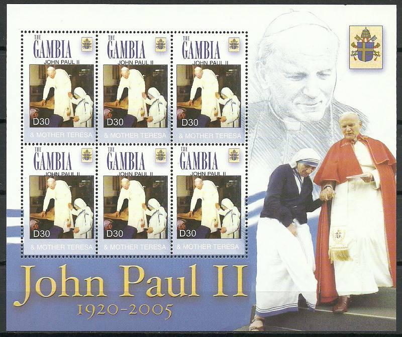 Gambia 2005 Mi ark 5547 MNH