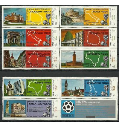 North Yemen 1970 Mi 1088-1096 MNH