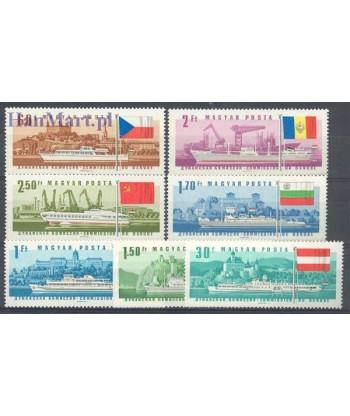 Węgry 1967 Mi 2323-2329 Czyste **