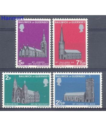 Guernsey 1971 Mi 58-61 Czyste **