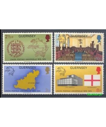 Guernsey 1974 Mi 106-109 Czyste **