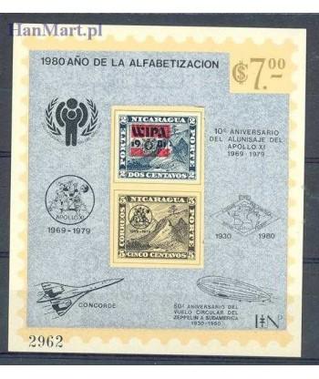Nikaragua 1980 Mi bl 127 Czyste **