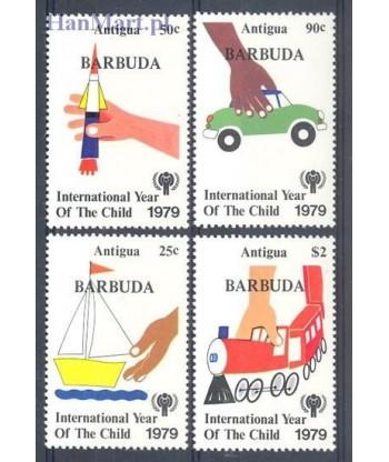 Barbuda 1979 Mi 450-453 Czyste **