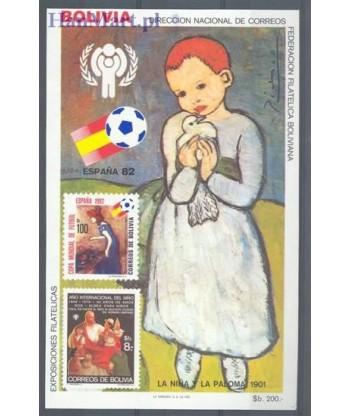 Boliwia 1983 Mi bl 132 Czyste **