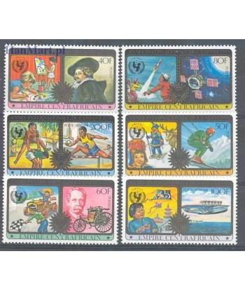 Republika Środkowoafrykańska 1979 Mi 606-611 Czyste **