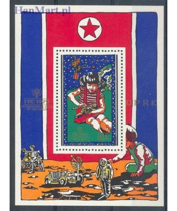 Korea Północna 1979 Mi bl 65 Czyste **