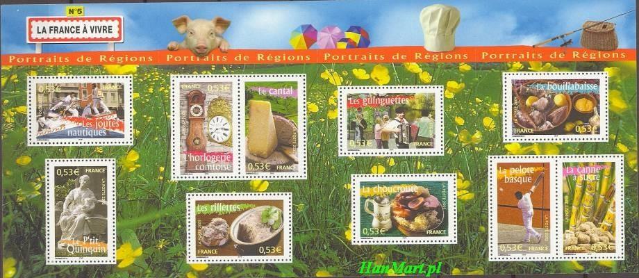 France 2005 Mi 3918-3927 MNH