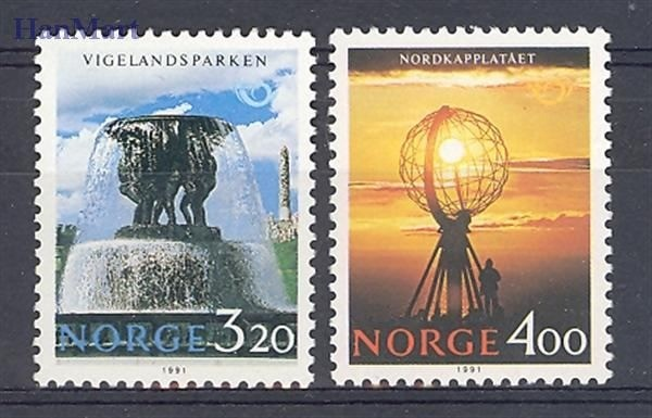 Norway 1991 Mi 1068-1069 MNH
