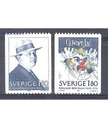 Szwecja 1983 Mi 1249-1250 Czyste **