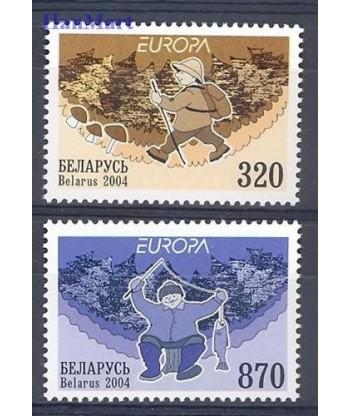 Białoruś 2004 Mi 543-544 Czyste **