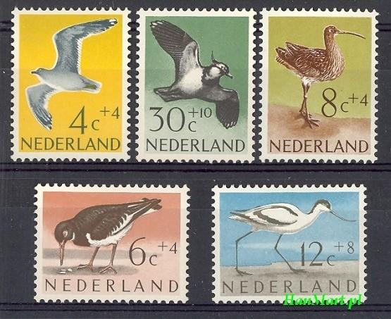 Netherlands 1961 Mi 760-764 MNH