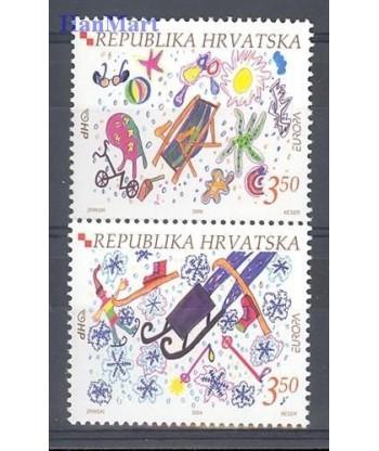 Chorwacja 2004 Mi 684-685 Czyste **