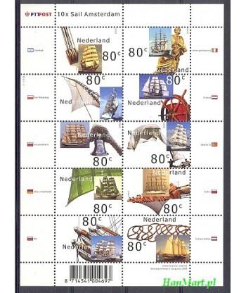 Holandia 2000 Mi 1807-1816 Czyste **