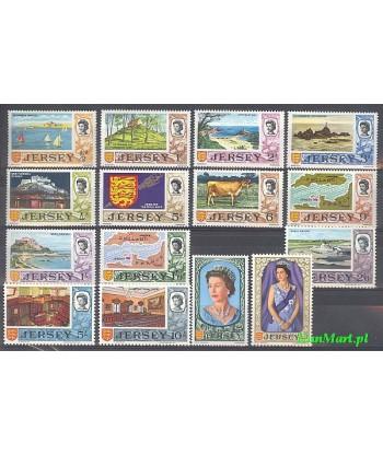Jersey 1969 Mi 7-21 Czyste **